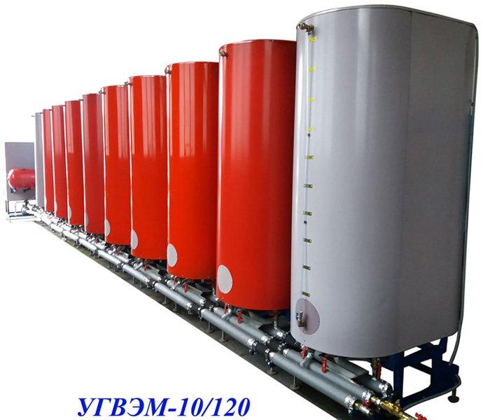 Установка горячего водоснабжения электрическая модульная УГВЭМ